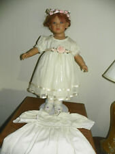 Annette Himstedt's Beautiful Liliane Doll, Complete w/Original & Extra Outfit