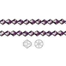 Swarovski Crystal Beads 5328 Xilion Bicone 6mm Package of 24