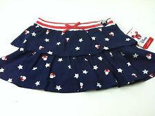 NWT Disney Jumping Beans Girls Infant Skirt Scooter Navy Stars Sz.24Mo New