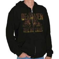 Pirates Of The Carribean Cool Dead Men Tell No Tales Disney Zipper Hoodie