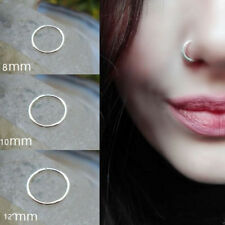 100pcs 316L Surgical Steel Nose piercing Nose Hoop Ring Stud Ear Piercing