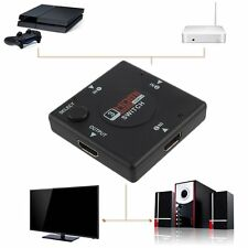 3 Port 1080P HDMI Splitter Cable Multi Switch Switcher For HDTV BE
