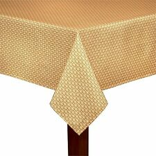 Tommy Bahama Fabric Tablecloth Indoor Outdoor Rattan Basket Weave Various Sizes