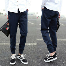 Men's Sports Loose Pants Casual Pencil Pant Long Baggy Trousers Tapered Joggers