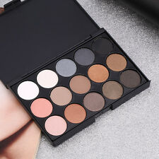 Professional 15 Colors Matte Shimmer Eyeshadow Palette Makeup Cosmetic set BE