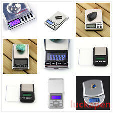 Stainless steel 500g 0.1g Digital Electronic LCD Jewelry Pocket Weight Scale BE