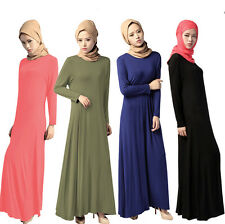 Women New Style Long dress Muslim Maxi dress Islamic Abaya Kaftan Jilbab Dresses