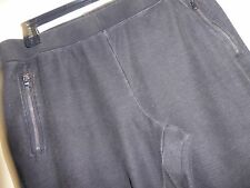 NEW Women's Black Heathered Jogger Pants  Sz XL $69-