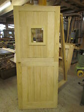 Bespoke 1Lite Stable Door with or without external door  Frame *MADE TO MEASURE*