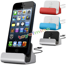New Charge+ Sync Dock with Cable for iPhone5 5s 5c,iPod touch 5 5SE