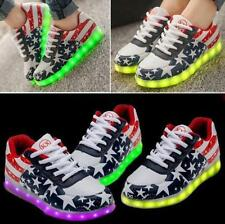 Glow In The Dark Shoes Light Up Runners LED Shoes Flashing Shoes For Girls Boys