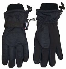 N'Ice Caps Kids Extreme Cold Weather 80 Gram Thinsulate Ski Gloves (Black,...