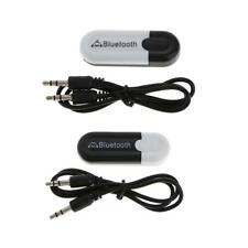 Bluetooth Wireless Receiver Adapter USB Dongle 3.5mm Stereo Music Speaker