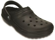 Crocs Classic Lined winter slipper Clog in black sizes M4/W6, M5/W7, M9/W11 only