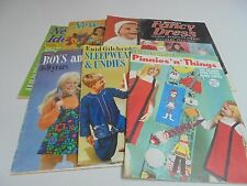 Enid Gilchrist' Pattern Books New Idea Vintage Sewing & Knitting You Choose