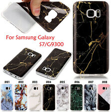 Cute Soft TPU Silicone Case Marble Rubber Skin Back Cover For Samsung S7/G9300