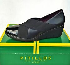 Pitillos Shoes Spain Comfort wedge Leather Slip ons 1825