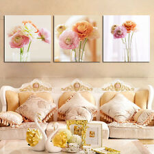 Canvas Painting modern flower Print  Home Decor for living Room 3PC No Frame