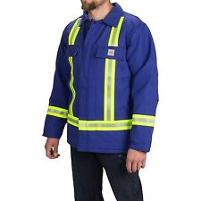 Carhartt Flame Resistant Striped Duck Traditional Insulated Jacket Coat, 4XL, LT