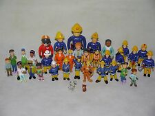 Used Fireman Sam Figures~Mike,Helen & Mandy Flood,Steele,Dilys,Elvis,Penny,Tom..
