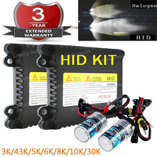 H3 43K 3K 6K 55W Xenon Headlight Replacement Bulb Fog Light HID KIT for Nissan