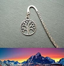Lord of the Rings White Tree of Gondor Bookmark Middle-earth Ringer Silver Gift
