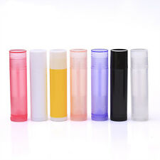 Lip Balm empty bottle tube 5 ml of plastic tubes Colorful Lipstick Makeup Lady