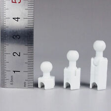 """3Styles 1/6 Scale Heighten Feet Connector Joint White For 12"""" Male Action Figure"""