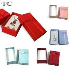 Wholesale 16pcs/lot Necklace Earring Pendant Packaging Gift Jewelry Box Ring Box