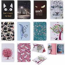 Pattern Leather Mangnetic Smart Case Stand Cover for iPad 2 3 4 Air Mini Pro