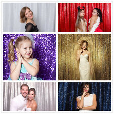 4ftx6.5ft Sequin Backdrop for Photography Sequin Photography Fabric Curtain