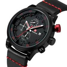 Luxury Military Date Quartz Watch Analog Silicone Men's Sport Wristwatches New