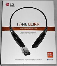 LG Tone HBS-810 Ultra Wireless Bluetooth Headset Earbuds Black OPEN BOX -
