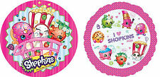 SHOPKINS Edible Kid Birthday Cake Icing Sheet Topper Decoration Round Images