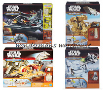 Star Wars Micro Machines -Star Destroyer/Stormtrooper/Millenium Falcon/R2-D2