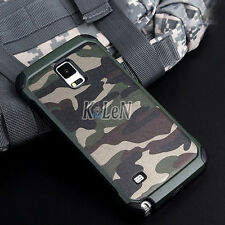 Luxury Camo Camouflage Heavy Duty Army Case Cover Fo Samsung Galaxy Note 9 8 5 4