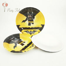 Batman Theme Party Decoration Disposable Tableware One-off Paper Plate Dishes