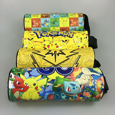 Pokemon Go Team Pikachu Pencil Bag Makeup Cosmetic Brush Pouch Pen Pencil Case