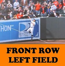 4 Front Row Seats Baltimore Orioles Tickets vs. Cleveland Indians 6/22/17