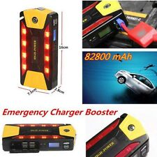 2017 12V 82800mAh Portable Car Jump Starter Pack Booster Charger Battery New
