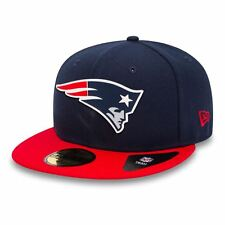 |80468980-NVY-RED| New Era Cap – 59Fifty Nfl New England Patriots Team Rubber Lo