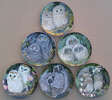 WEDGWOOD PLATES - THE BABY OWLS COLLECTION by DICK TWINNEY.