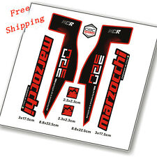 Mountain Bike Bicycle Front Fork Stickers For MTB Marzocchi 350 NC race Decals