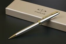 Parker Sonnet Matte Ballpoint High Quality Pen with Gold/Silver Plated Trim