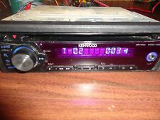 Kenwood KDC-148 Car Audio wma/mp3/CD Player Front Aux Input Oldschool Bass WORKS