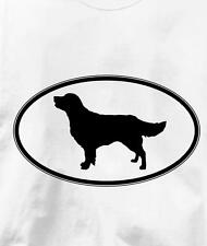 Golden Retriever Oval Profile Dog T Shirt All Sizes & Colors