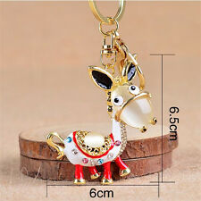 New 1Pcs Key Chain Keychains Crystal Charm Jewelry Small Ass Keychain For Cars