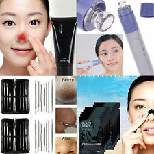 Facial  Cleanser Cleaner Face Blackhead Zit Acne Remover Skin Cleansing Tool Kit