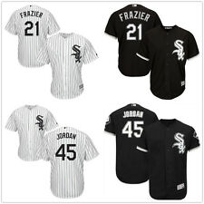Men's Chicago White Sox Cool Base Jersey #45 Michael Jordan #21 Todd Frazier