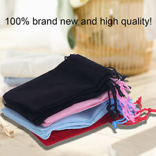 100pcs Gift Bag Jewelry Display 5x7cm Velvet Bag/jewelry Bag/organza Pouch BE